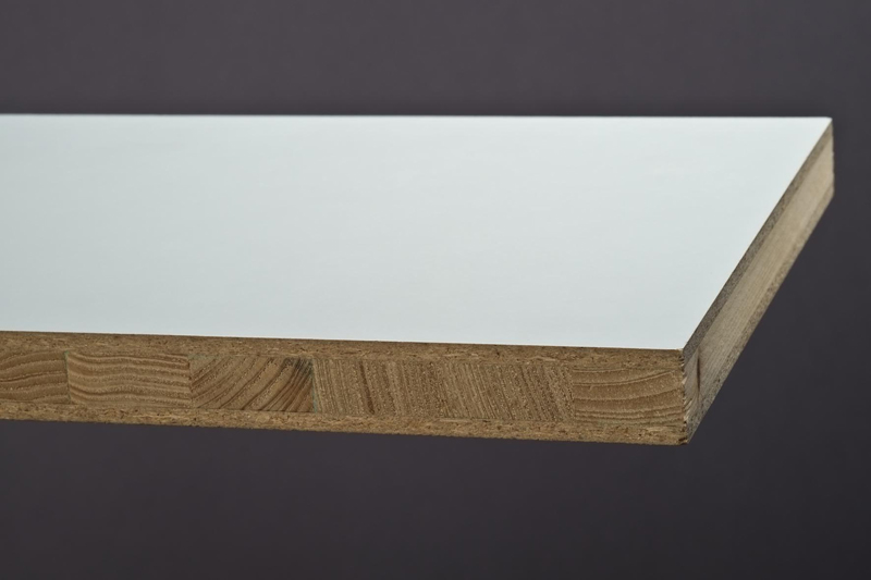 Tischlerplatte weiß | Holzzentrum Westend